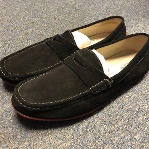 Alfani Driver Black Loafers